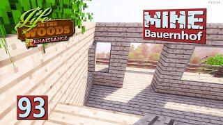 MINE Bauernhof | Früher war alles VIERECK ► #93 MINECRAFT Life in The Woods deutsch