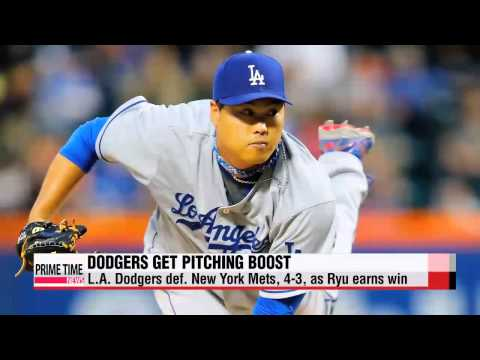 MLB: Dodgers beat Mets as Ryu returns to the mound