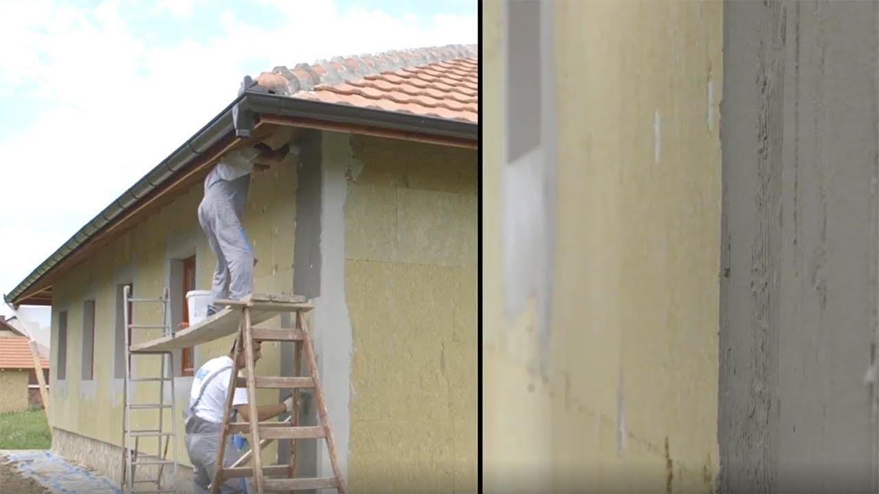 Postavljanje Kamene Vune Na Fasadu Kuce U Cacku Youtube