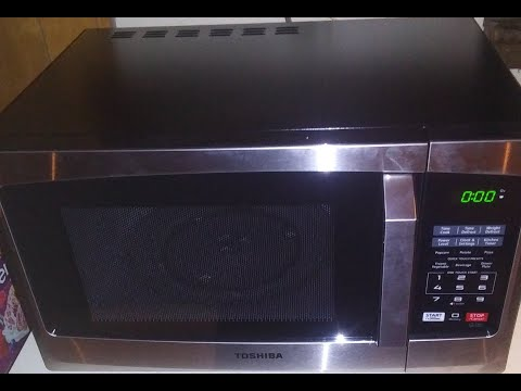 Toshiba EM925A5A-SS Microwave Oven Review ECO/LED: Inside Point of View Look 2020 best?