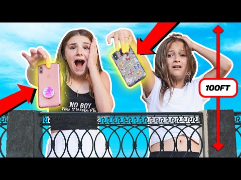 last-to-drop-iphone-wins-$10,000---challenge-**bad-idea**📱💔-|-piper-rockelle