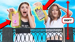 Last to Drop iPhone Wins $10,000 - Challenge **Bad Idea**📱💔 | Piper Rockelle