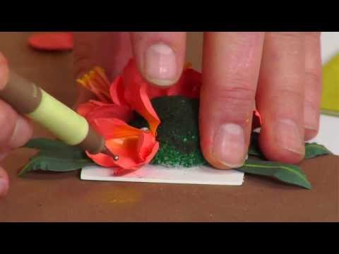 How to Use Sizzix Thinlits Clivia Flower Die