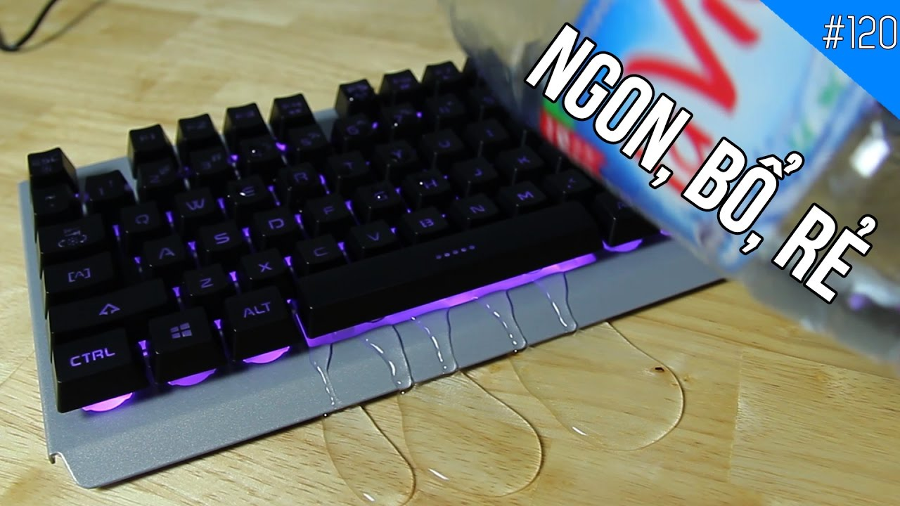 Những bàn phím Fake Cơ nên mua #2: I-ROCKS K62E 7 MÀU LED