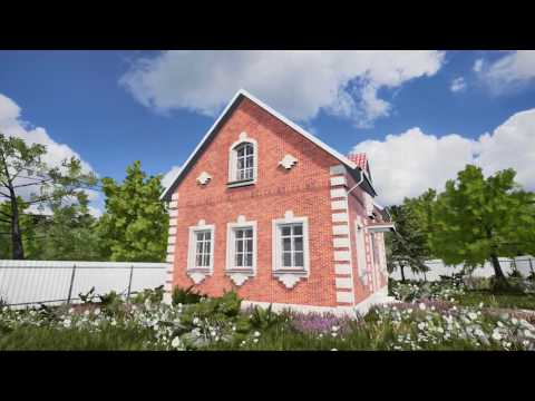 Russian Country House - VR Architecture