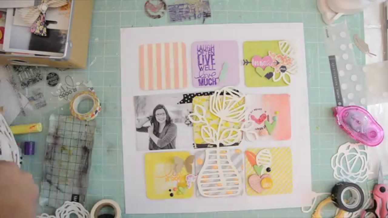 How to scrapbook photos - Scrapbooking Tutorial How To Scrapbook When You Have Zero Mojo By Wilna Furstenberg Youtube