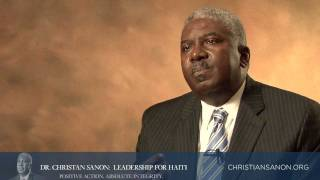 Dr. Sanon Speaks to Haitian Professionals (CREOLE)