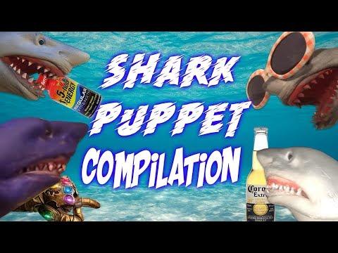 SHARK PUPPET COMPILATION 2