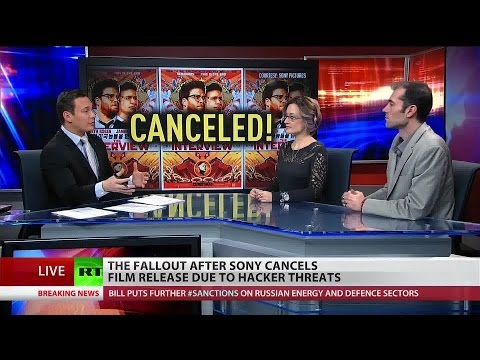 """Bedlam in Hollywood after terror threats prevent release of """"The Interview"""""""