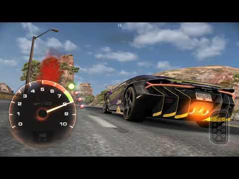 Прохождение события на  Lamborghini Centenario в NFS NL (5.10)