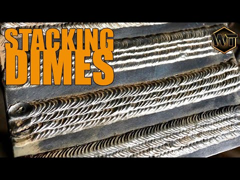 How to Stack Your Beads When Stick Welding