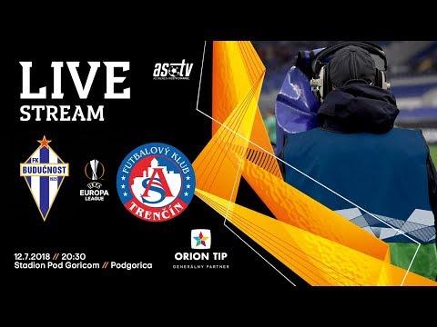 ASTV live: FK Budućnost Podgorica - AS Trenčín | 1. predkolo EL UEFA