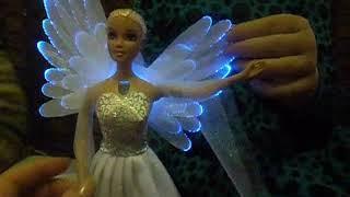 Кукла -ангел со светящимися крыльями! Игрушка для настоящих девочек!!!