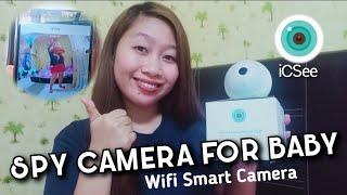 Wifi Smart Camera for Baby - ICSee -  - Wifi Panorama Camera- CCTV Camera-BULB Camera Review