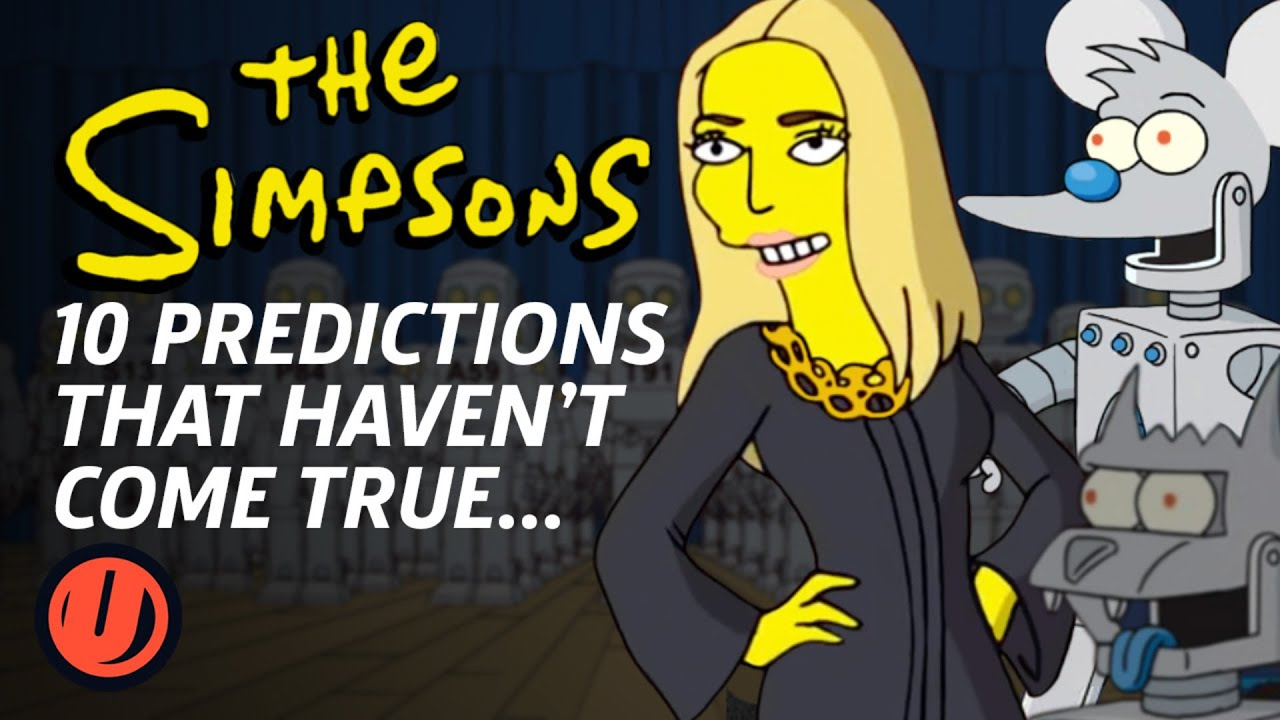 Download 10 Simpsons Predictions That Haven't Come True...Yet