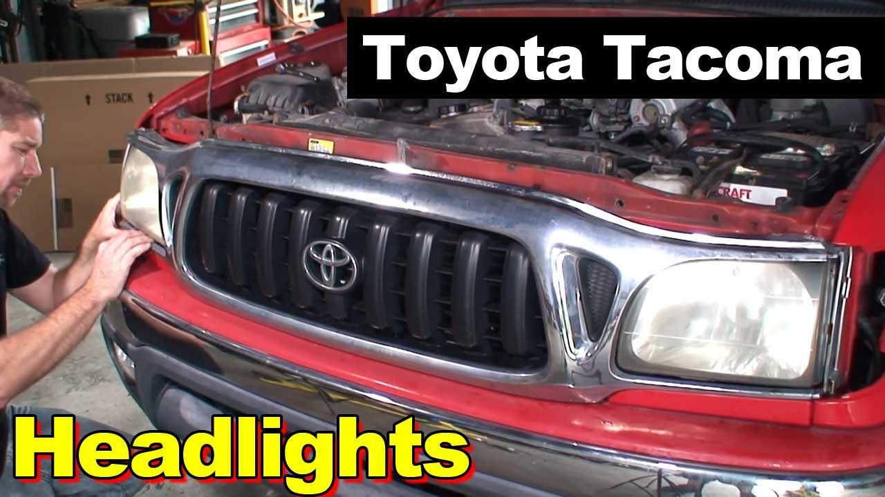 2004 Toyota Tacoma Headlight And Sidelights