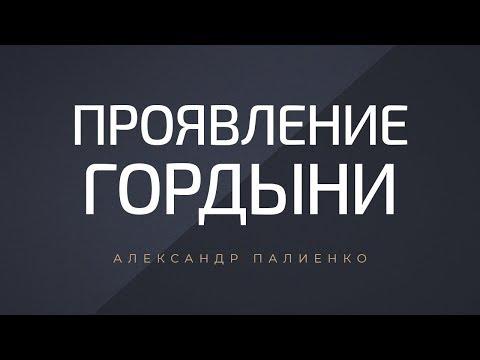 Проявление гордыни. Александр Палиенко.