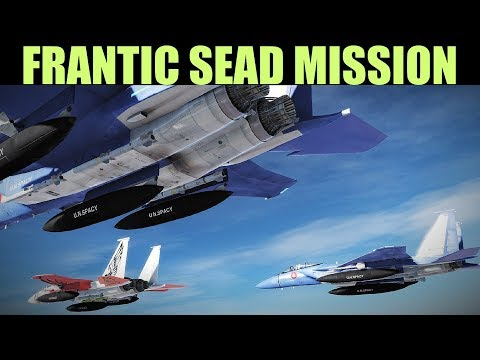 Coffee Campaign: DAY 9 Difficult Mission To Bomb S-300 & Sa-3 Site | DCS WORLD