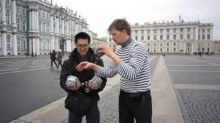 Таец берёт Уроки жонглирования булыжниками/LESSONS FOR JUGGLING COBBLESTONES