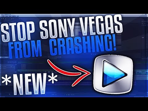 [2020] How To Fix ALL Sony Vegas Pro Crashes And Freezes!