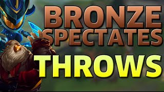 SPECTATING BRONZE: THROWS FOR DAYS - ROSSBOOMSOCKS