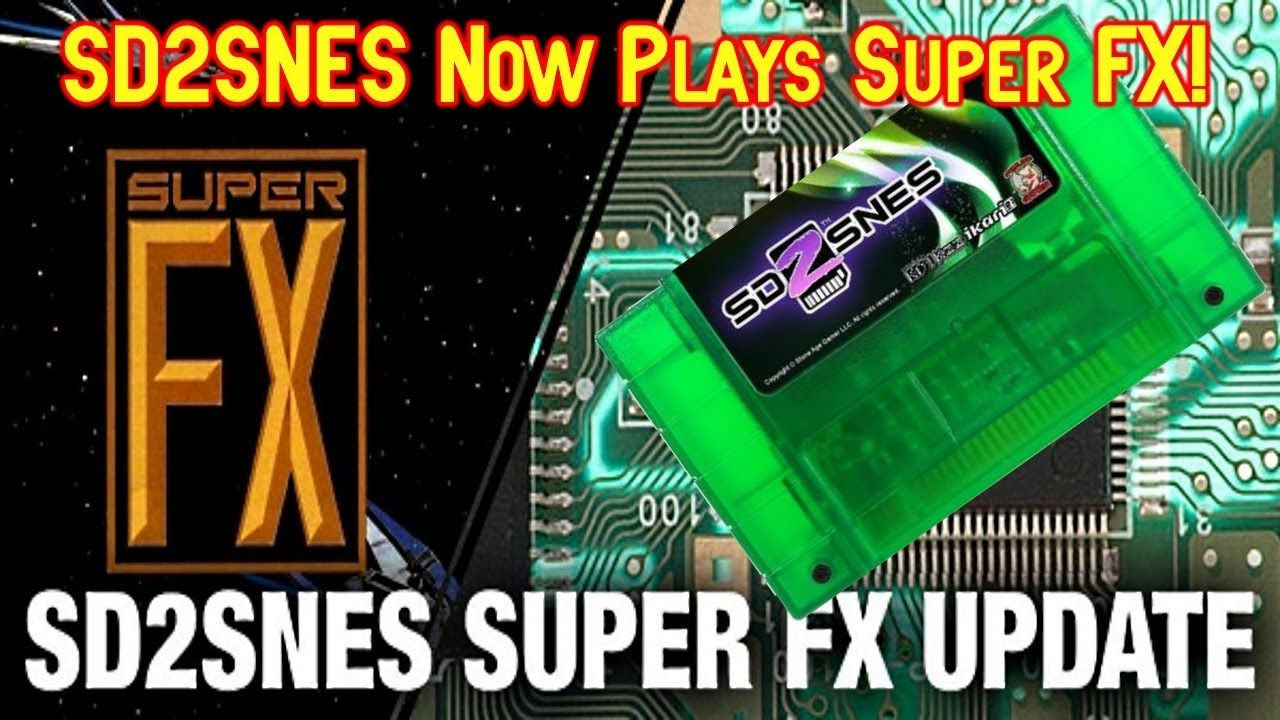 AMAZING! SD2SNES Flashcart Now Supports Super FX Games!