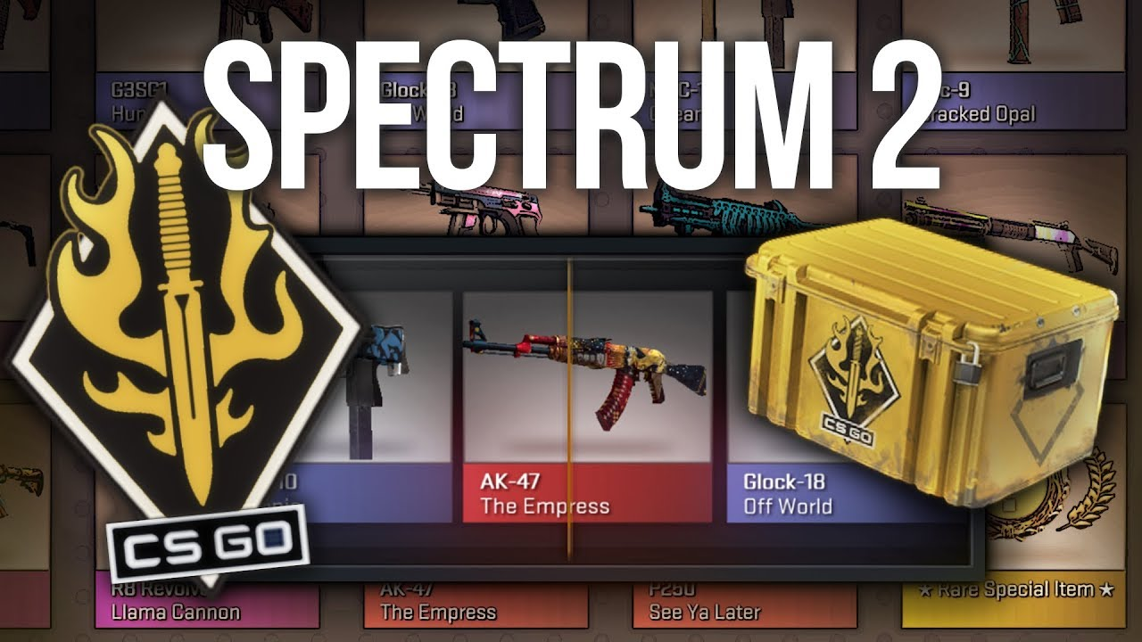 spectrum 2 case unboxing new cs go case youtube