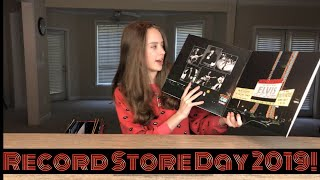 My 1st Record Store Day 2019! w/ BLOOPERS (w/subtitles)