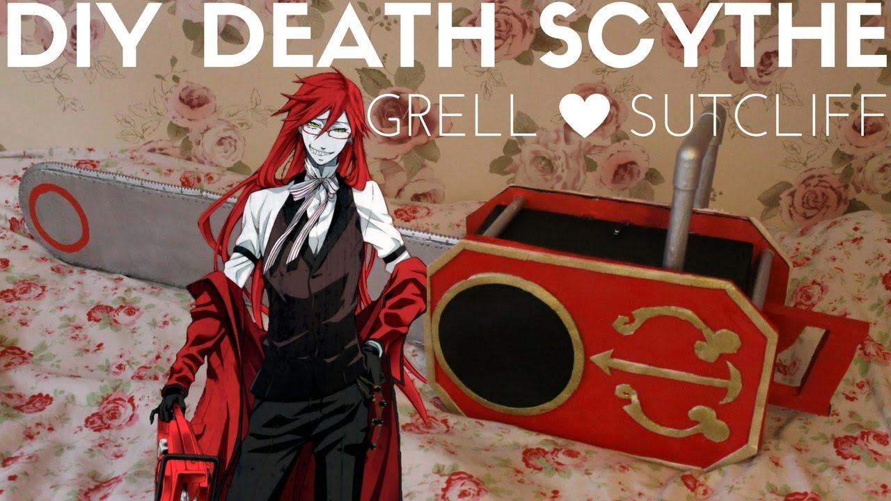 Cosplay Prop: DIY Grell Sutcliff Death Scythe Chainsaw ...