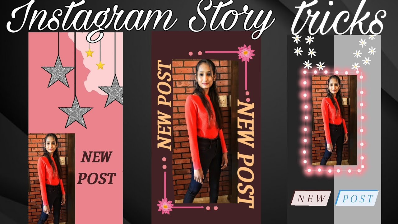 Creative 'New Post' Instagram Story Ideas || New Post-Insta Story Ideas