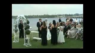 Blue Angels Surprise Wedding Flyover