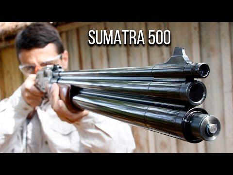 Teste e desempenho da PCP Sumatra 500 5.5mm  VentureShop - Tiro Esportivo