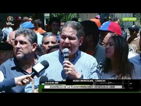 Venezuela - Frente Amplio Venezuela Libre conformó asambleas de ciudadanos en el país- VPItv