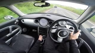 Mini Cooper POV Test Drive R50 UK Country Roads