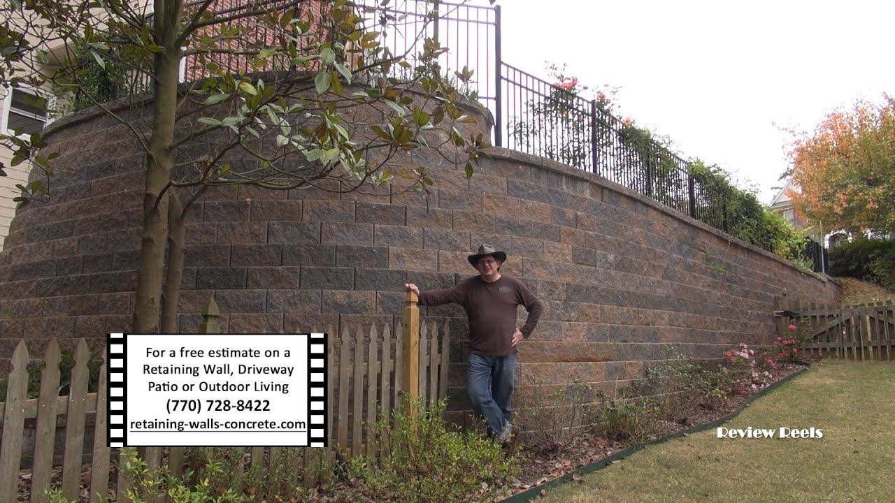 Retaining Walls Kennesaw GA | Engineered Retention Wall