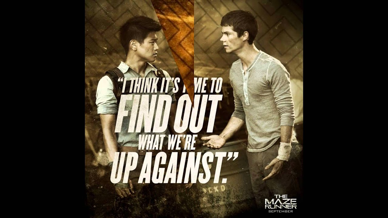 The Maze Runner Quotes 2