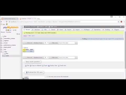 Basic Signup/login Functionality Using PHP + Password Hashing & Salting