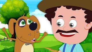 Schoolies Russia - бинго собака | детские стишки | русский мультфильмы для детей | Bingo The Dog