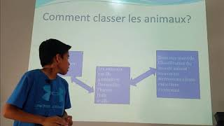 La classification animale CM2 B 2018