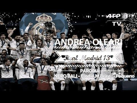 REAL MADRID CHAMPIONS LEAGUE 13 - Parodia NERO BALI Elodie,M.Bravi,G.Pequeno