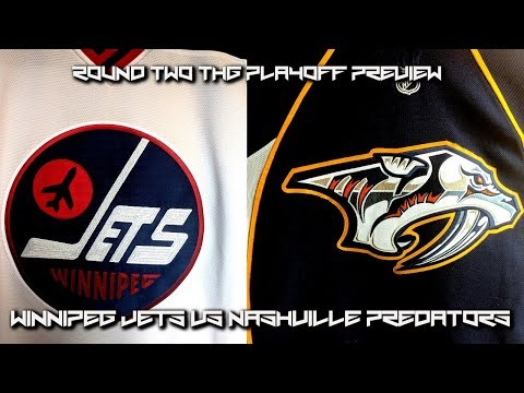 Round Two Playoff Preview of Preds vs Jets