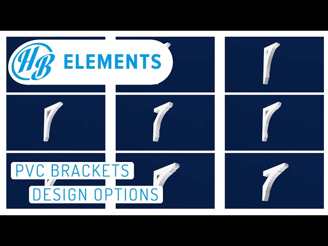 PVC Brackets | Design Options