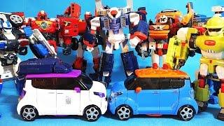 또봇15기의 괜찮아 또봇과 굿바이 또봇 W 안티플레임 변신 장난감 Tobot W toys
