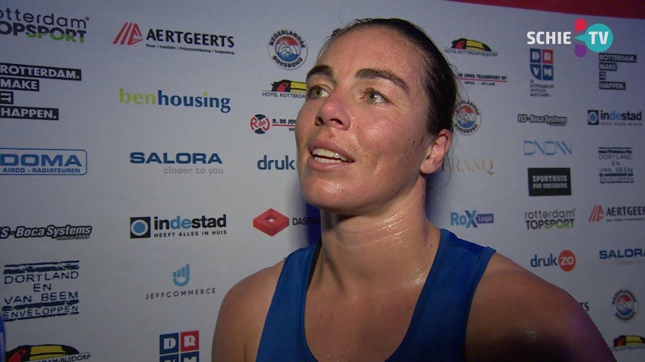 Fontijn Partners.Schie Tv Nouchka Fontijn Wint Duel In Boksinterland