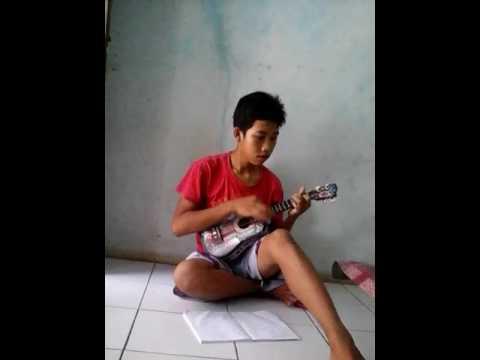 Punk Rock siapit - layang kangen (ukulele)