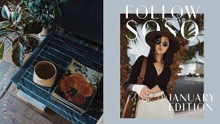 January Recap | Follow SoSo