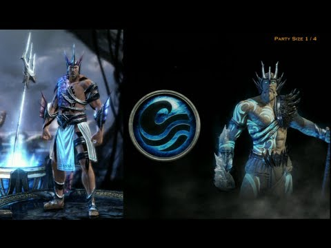 GOW Ascension MP Gameplay Spear Of Poseidon 16-6 - YouTube