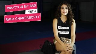 What's in my bag with Rhea Chakraborty | Pinkvilla | S01E05 | Bollywood | Lifestyle
