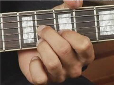 Play C Dim Chord On The Top Guitar Strings 1st Inversion Guitar