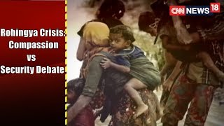 Rohingya crisis: compassion vs security debate | face off@9 | cnn-news18